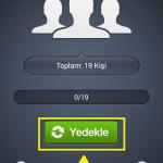 Android Rehber Yedekleme 1