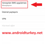 Android Varsayılan SMS Uygulaması 2