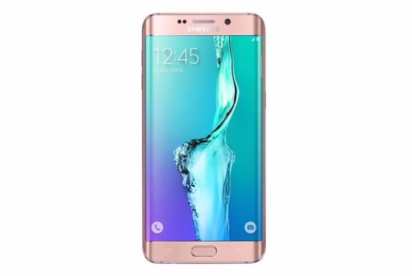 Pembe Samsung Galaxy S6+ 2