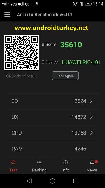 Huawei G8 Antutu Puanı