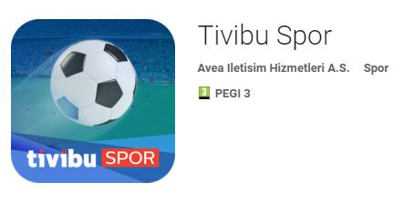 Tivibu Spor Android Logo