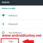 Android 4.5G Ayarları 1