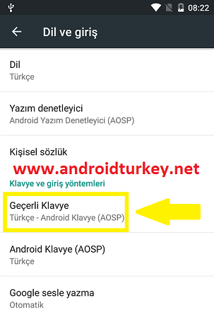 Android Klavye Emoji Ekleme 2