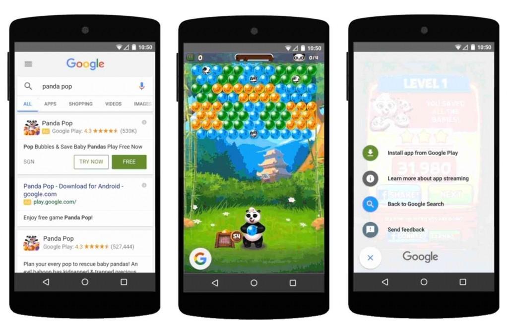 Google Play Search Trial Run Ads Demo Oyun Oynama