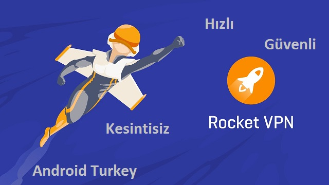 Rocket VPN Androidturkey