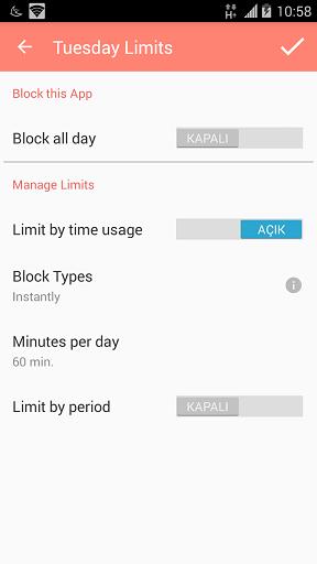 Limitly Ekran Kontrol Uygulaması 7