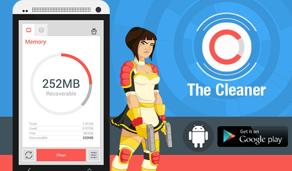 The Cleaner Android Uygulaması