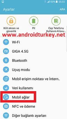 VoLTE Telefon Ayarları 1