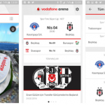 Vodafone Arena Uygulaması Android iPhone