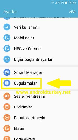 Samsung Numara Engeli Kaldırma 1