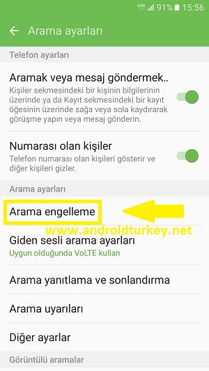 Samsung Numara Engeli Kaldırma 3